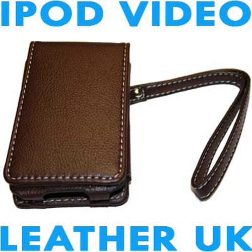 Executive iPod Video Leather Case - Brown
