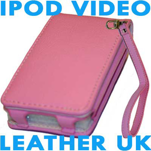 Executive iPod Video Leather Case - Pink
