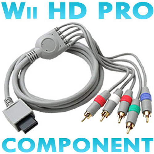 Component HDTV AV Cable for Nintendo Wii