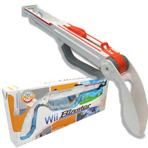 Wii Blaster Gun Accessory for Nintendo Wii