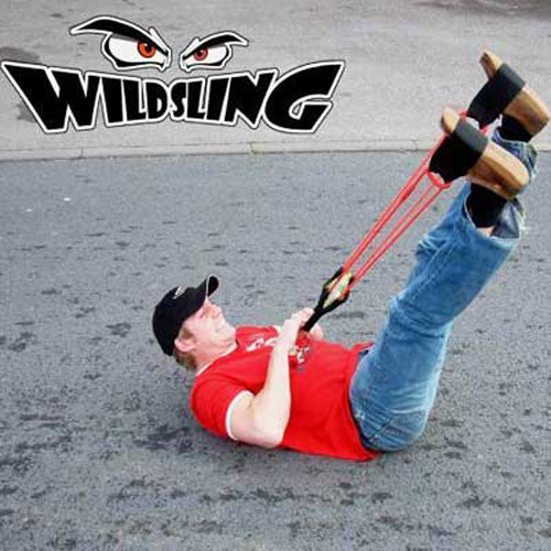 Wild Sling Solo - Giant Water Baloon Launcher Catapult