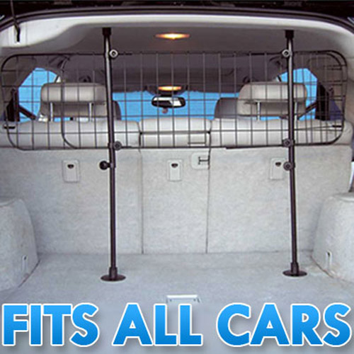 Universal Car/Van Wire Mesh Dog Guard - Fully Adjustable