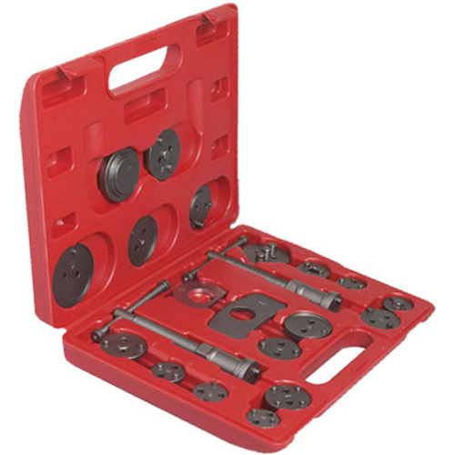 Car Service Brake Caliper Rewind Wind Back Tool Kit - 22pcs Set